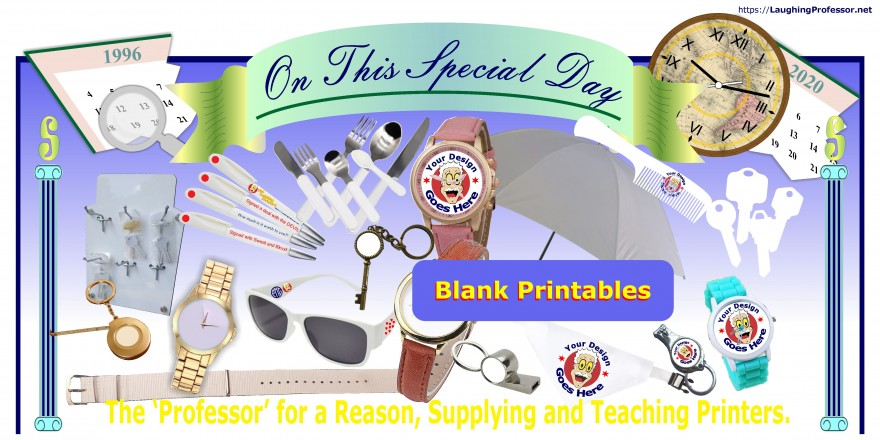 Sublimation Blank substrates / Printables.