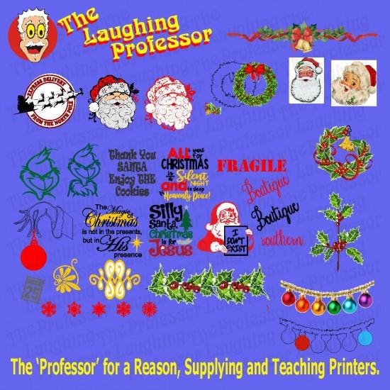 Christmas Vector Designs - SET