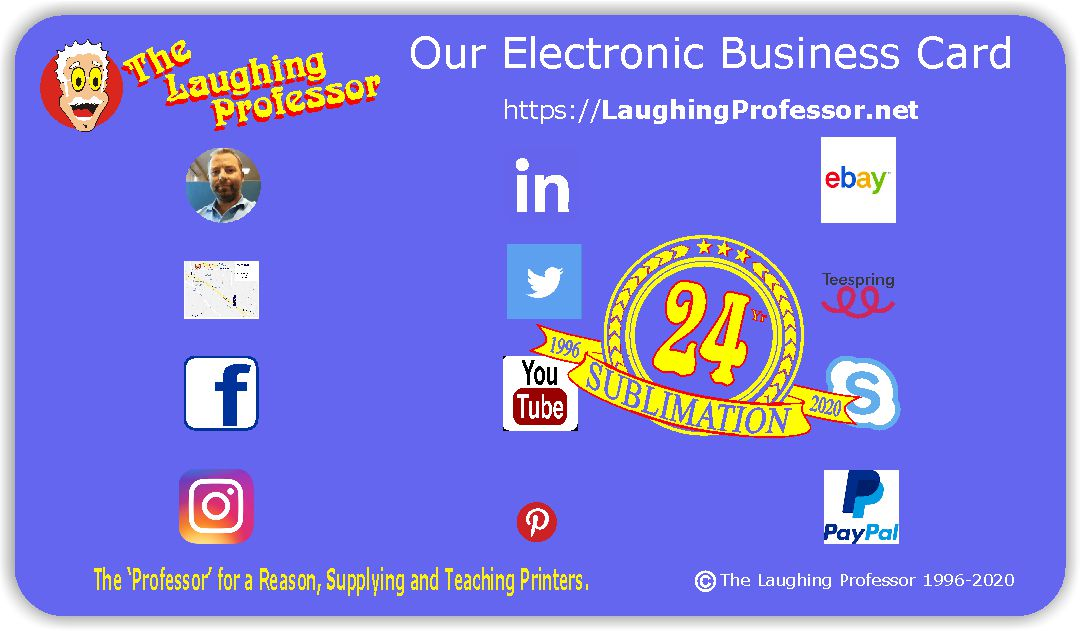 Our Electronic Business Card - The Laughing Professor