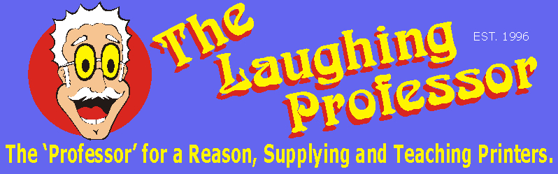 The Laughing Professor | 25 years of Unique Sublimation Supplies and Equipment