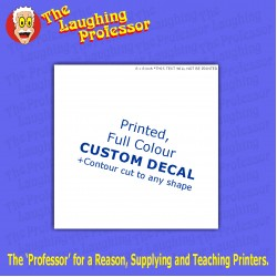 blank 8 inch - CREATE YOUR OWN printed decal
