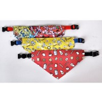 Pet Collar and Scarf Set