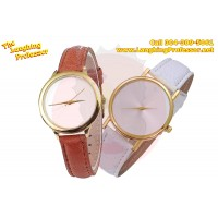 Watch - Leather wrist watch, ladies - blank sublimation