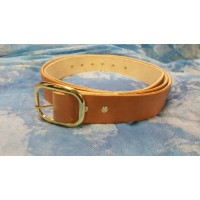 Leather BELT - custom dye Printed