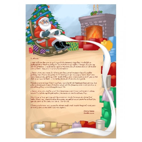 Letter from santa personalized to your child addressed and mailed letter from santa personalized to your child spiritdancerdesigns Images