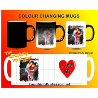 Mug 11oz COLOUR CHANGING / MORPH - PERSONALISED