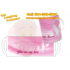 Mug - Cancer Hero  11oz ceramic dye Printed Coffee mug.