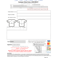 Order Form - Template