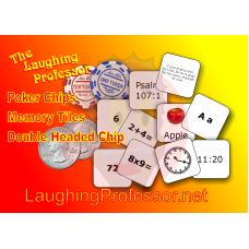 Poker Chips - Memory Tiles