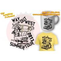 T-Shirt - Way out West Summer Tour