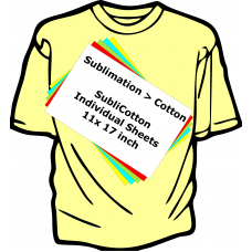 Sublimation to Cotton - Individual Sublicotton Sheets
