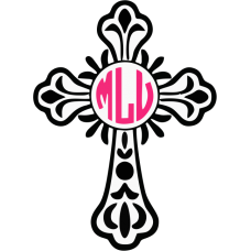 File - Monogram Cross