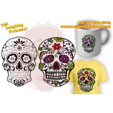 File - Sugar Skull svg