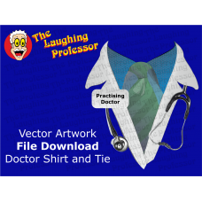 Shirt and Tie - Vector Artwork File Download