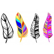Feather svg, eps vector download file