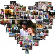 File - Heart Collage