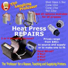Heat Press REPAIRS