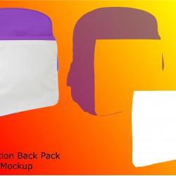 Back Pack Layered mockup File