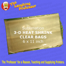 3D Heat Shrink sublimation FILM sheets