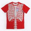 Teespring Chest Skeleton and heart