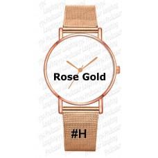 watch - Unisex Fashion Dress Stainless Wrist Watch