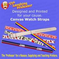 Watch - Canvas wrist watch Strap, sublimation blank