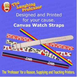 Watch - Canvas wrist watch Strap, sublimation blank