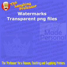 Watermarks - Transparent png files Created