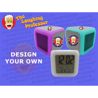 Cube LED Digital Alarm Clock
