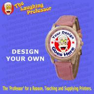 Watch - Unisex Leather wrist watch - blank sublimation