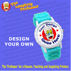 Watch - Silicone wrist watch, unisex sublimation blank