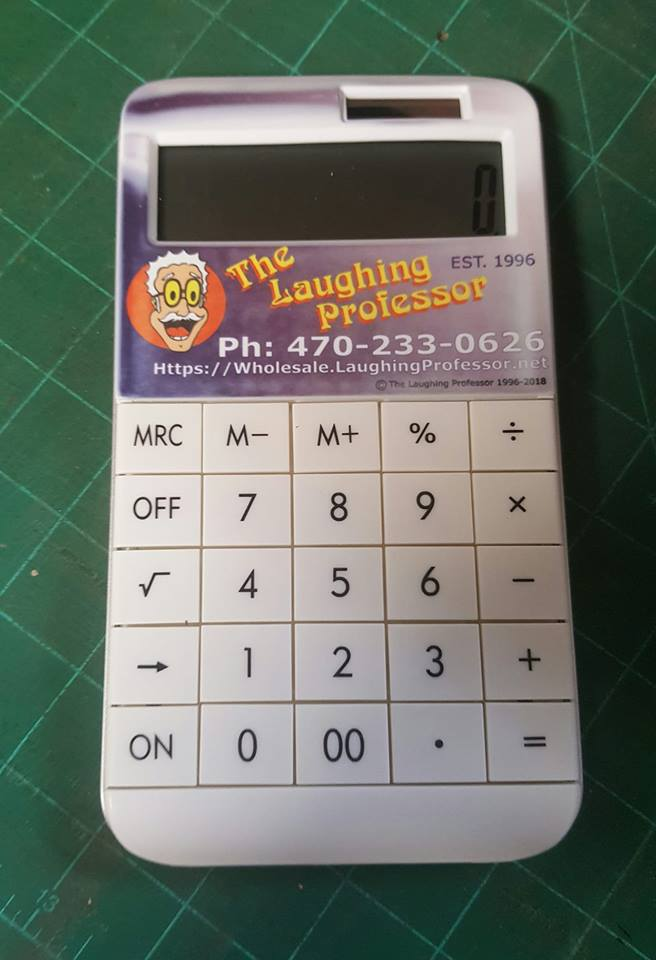 blank white Sublimation calculator